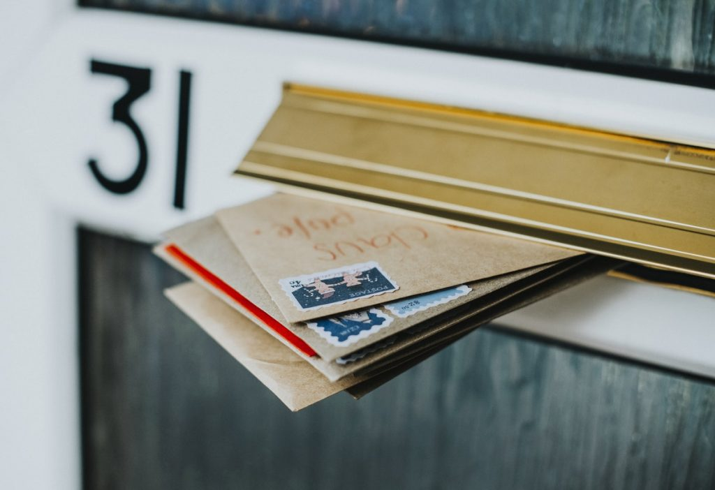 Redirect your mail while on vacation