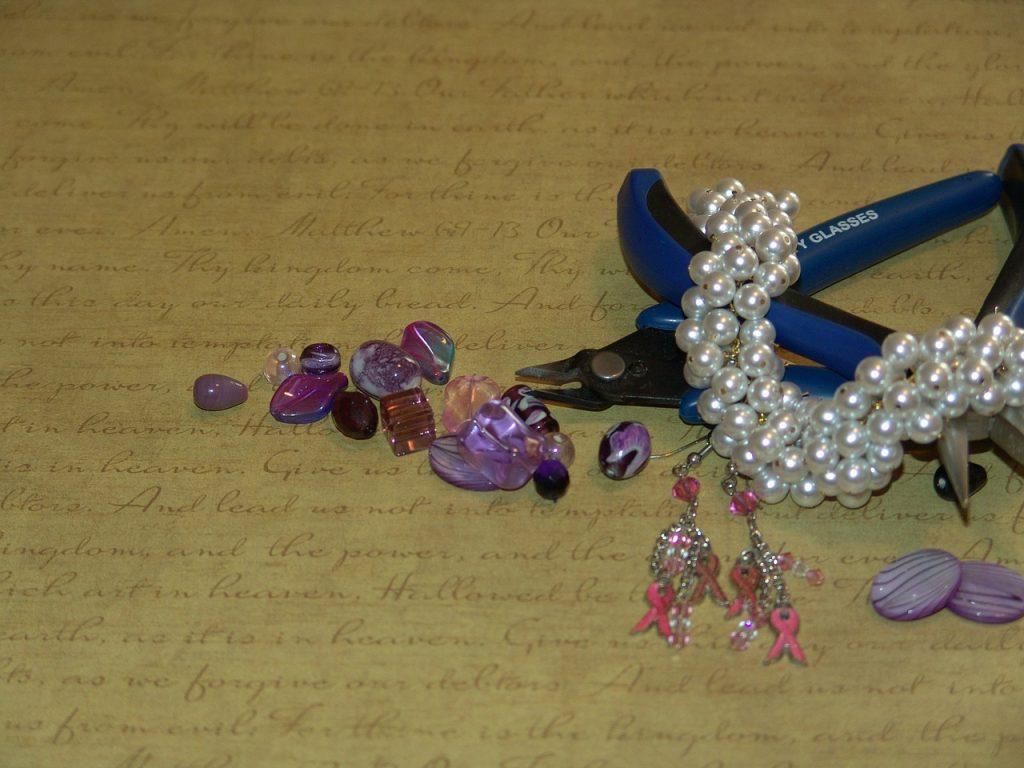 Hand-made jewelry