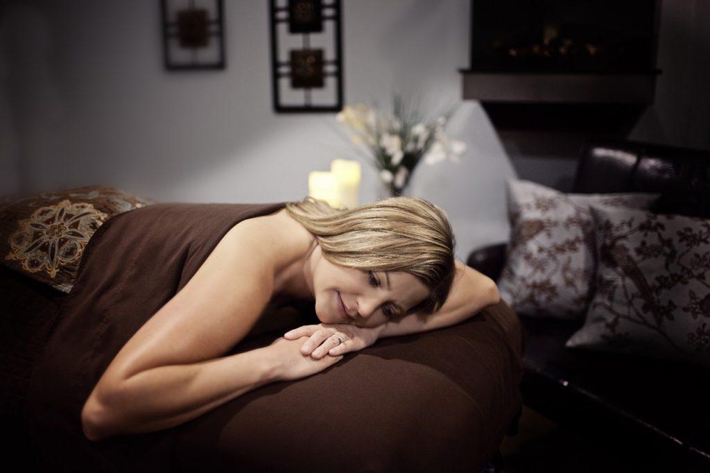 relax after a massage