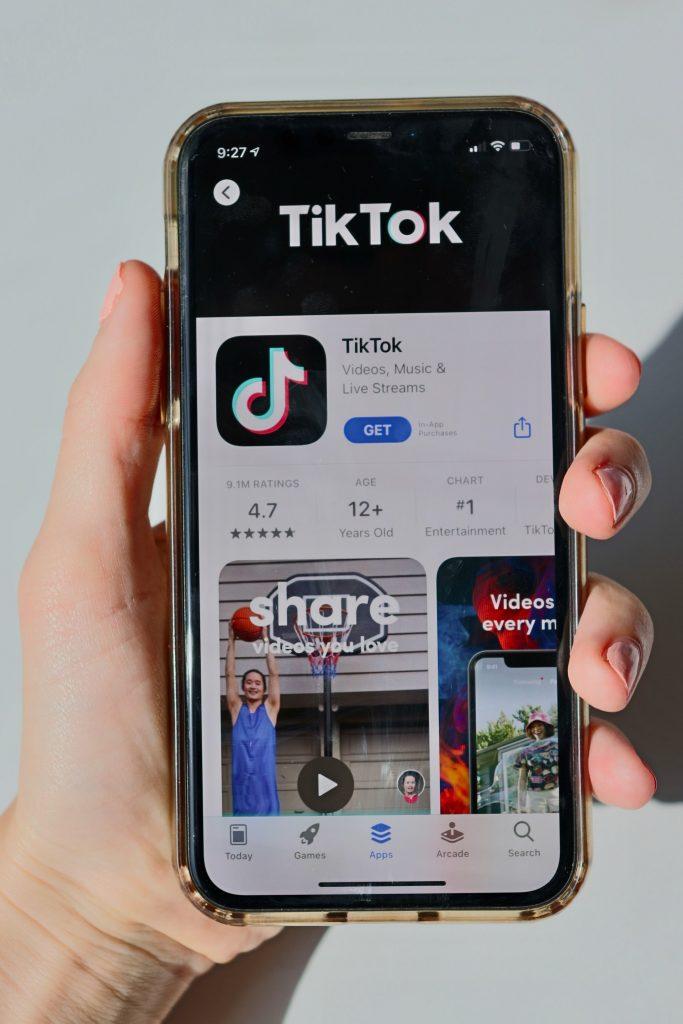 Sharing on Tik Tok