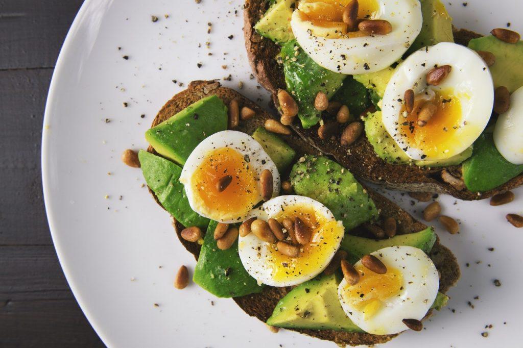 Protein-Rich eggs