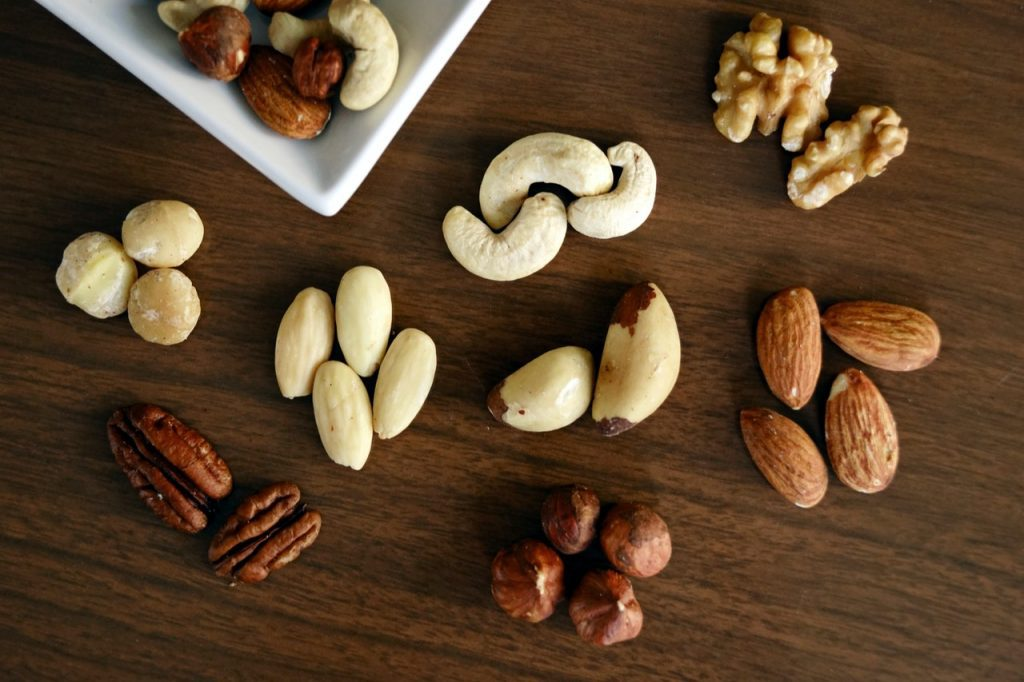 Protein-Rich Nuts and seeds