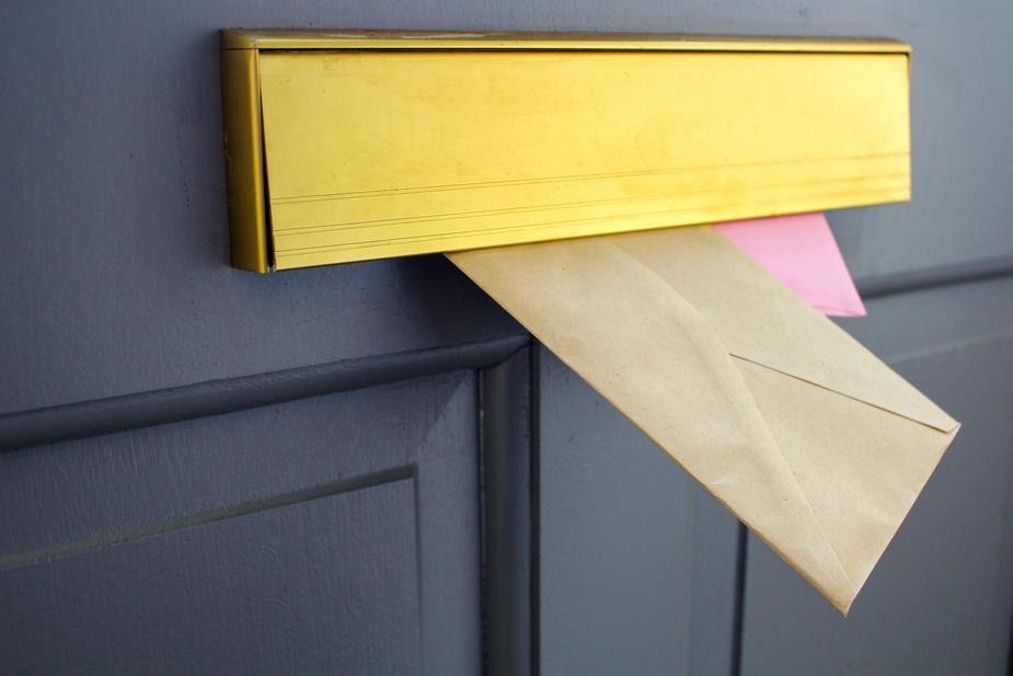 Letters sent back