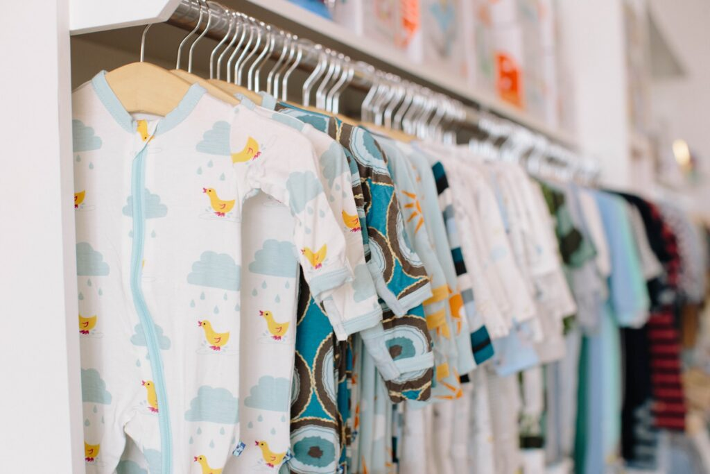 Clothes for baby's arrival