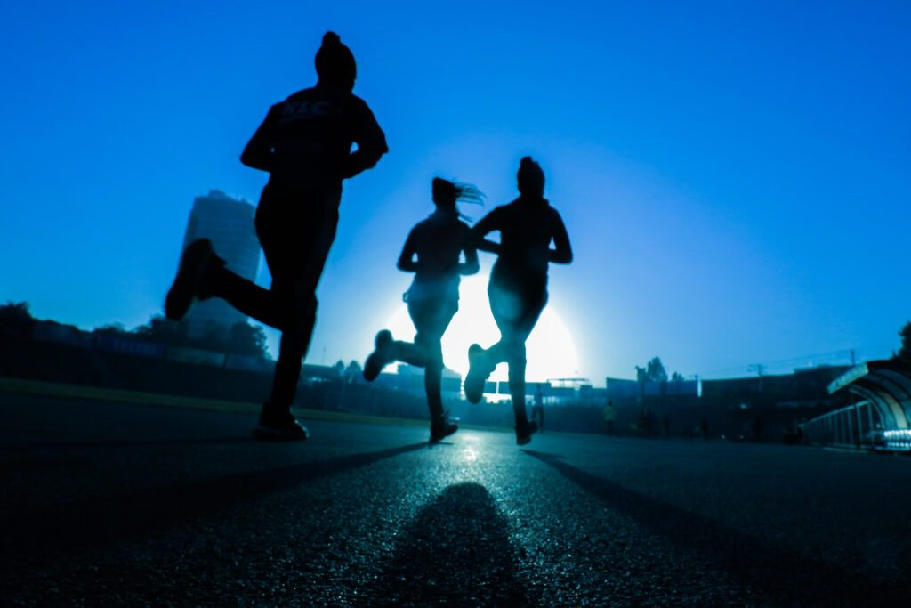 Exercising for improved sleeping