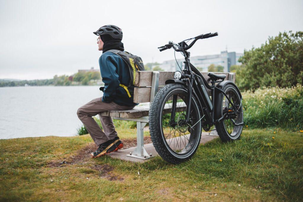 e-bike ride in the country