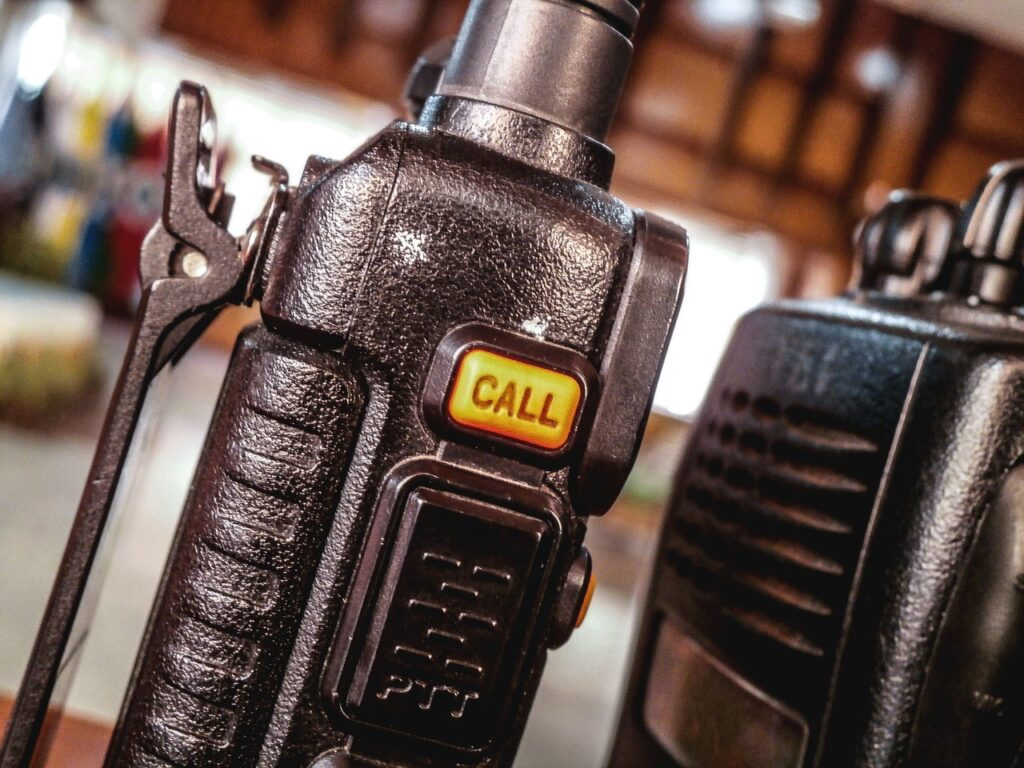 Walkie Talkie call button